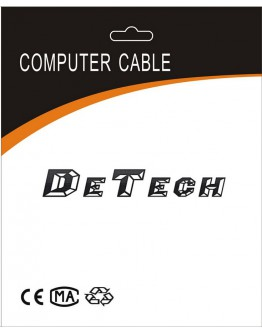 Кабел за данни DeTech USB - USB micro - 18025