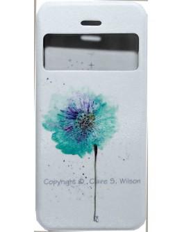Калъф DeTech за iPhone 6/6S, Кожа изкуствена, Кожа, Многоцветен - 51314