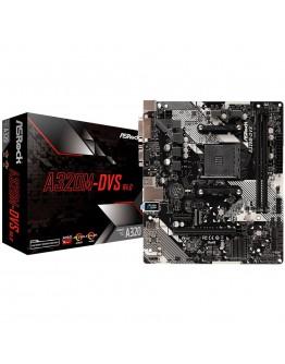 ASROCK Main Board Desktop AM4 A320, 2xDDR4,