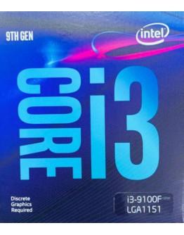 I3-9100F /3.6GHZ/6MB/BOX/1151