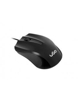 uGo Mouse UMY-1213 optical 1200DPI, Black
