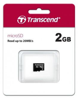 Transcend 2GB microSD (No box & adapter)