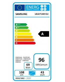 Телевизор Samsung 43 43TU8512 4K 3840 x 2160 UHD LED TV, SMA