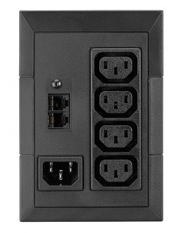 Eaton 5E 850i USB + Eaton Warranty +, W1001, exten
