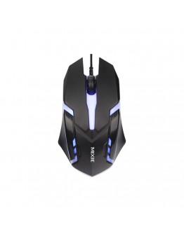 Геймърска мишка Mixie X3, Оптична, 3D, Черен - 722
